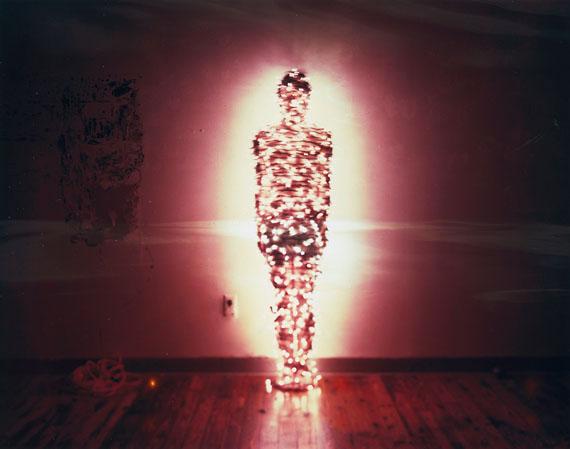 A man with no shadow, Duratrans, Aluminum light box, 84 ⅹ 106.7 cm, 2010  ⓒ Taewon JANG