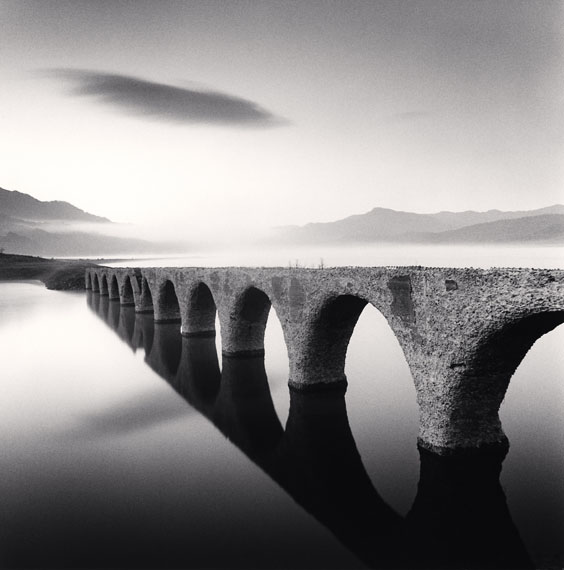 Michael Kenna: Taushubetsu Bridge, Nukabira, Hokkaido, Japan, 2008