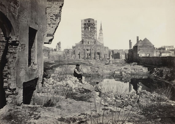George N. Barnard: Ruinen in Charleston, S.C., aus der Serie Fotografische Ansichten vom Feldzug des Generals Sherman, 1866 © Wilson Centre for Photography