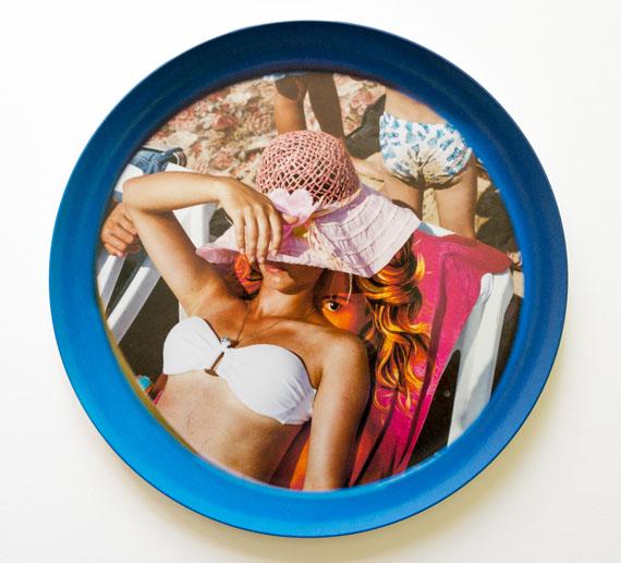 Kirill Golovchenko: see you, 2014, 28 cm, Print on melamin plate, Ed. 10 + 2 AP