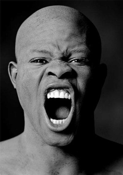Greg Gorman. Djimon Hounsou, Los Angeles, 1991