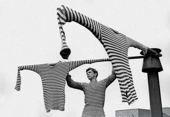 Sergei Petrukhin. Three striped shirts, 1968