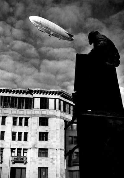 Yakov Khalip. Ivan Fedorov monument. Airship, 1935
