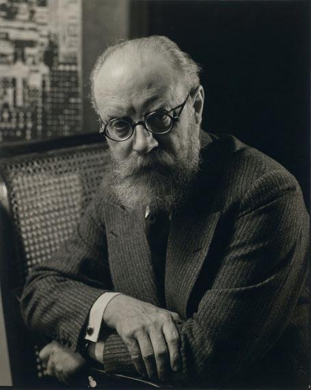 Edward Steichen: Henri Matisse, 1930, Vintage Gelatin Silver Print