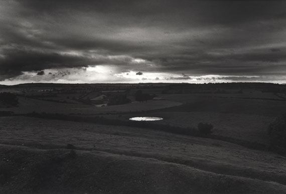 Dew-pond by Iron Age hill fort, Somerset, 1988 © Don McCullin