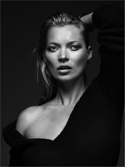 Kate Moss, London, 2013 – 140 x 105 cm – Edition 1/7   ©  Bryan Adams