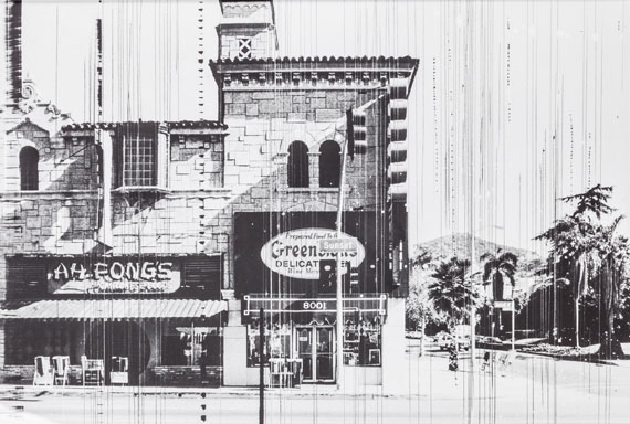 Ed Ruscha (Los 83): Greenblatt's Deli (Sunset Strip Portfolio), silver gelatine print, mounted on cardboard, 51 x 76 cm, 1976 (geprintet 1995)