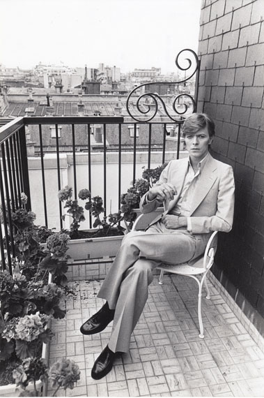 Anonym: David Bowie, Paris, 1977, Q000082, € 490