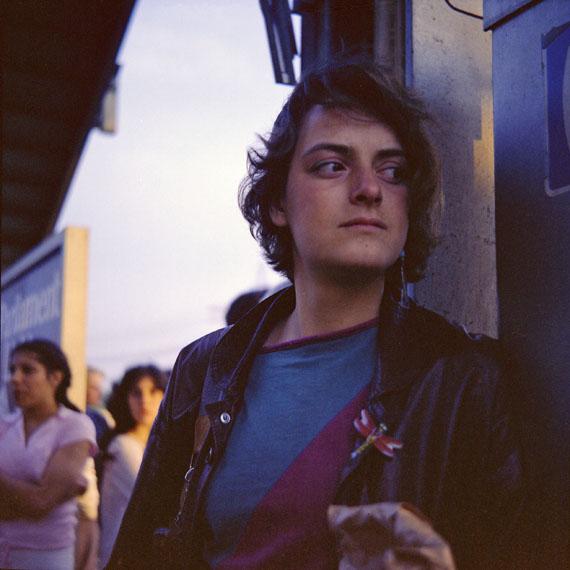 Simone Kappeler: 5. Karin, Soho Manhattan, 22.5.1981Courtesy Galerie Esther Woerdehoff