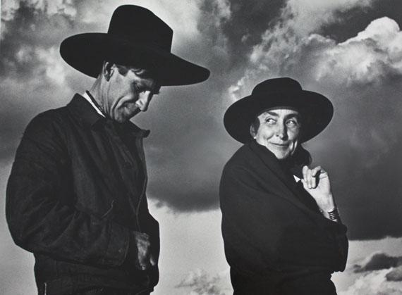 Ansel AdamsGeorgia O'Keeffe and Orville Cox, Canyon de Chelly National Monument, Arizona, 1937Gelatin silver print 16 х 20 in.Est. 20,000–30,000 USD