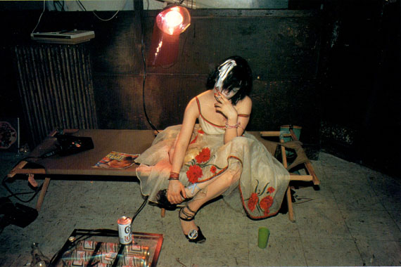 NAN GOLDIN: Trixie on the cot. NYC 1979 © Nan Goldin, courtesy the artist and Guido Costa Projects, Torino