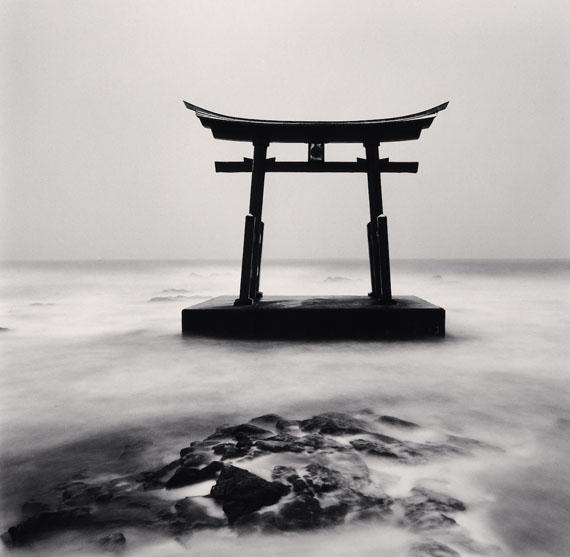 Michael Kenna: Torii Gate, Study 2, Shosanbetsu, Hokkaido, Japan, 2014 © Michael Kenna