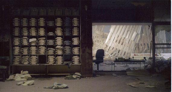 Sean HemmerleBrooks Brothers, September 12, 2001 Chromogenic print Edition of 3 40 x 50 in. Est. 12,000–18,000 USD