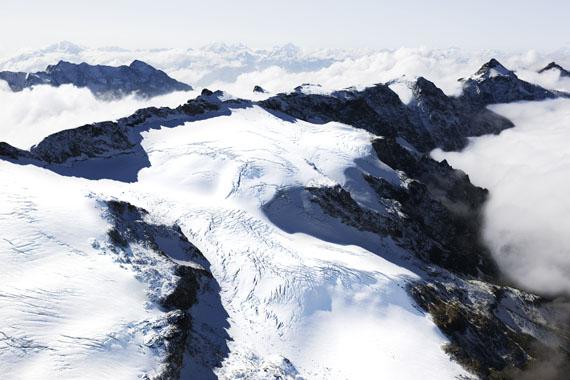 Jacques Pugin, La montagne s'ombre # 44, Alpes Bernoises, Suisse, 2008