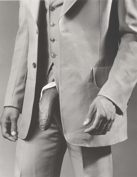Lot 71ROBERT MAPPLETHORPE (1946-1989)Man in Polyester Suit, 1980€180,000–200,000