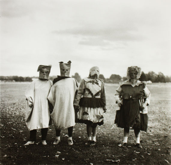 Diane Arbus Untitled (4), 1970–1971 Gelatin silver print printed later by Neil SelkirkEdition of 7515 x 14.5 in. Est. 10,000–15,000 USD