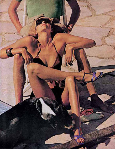 Helmut NewtonThe Story of O.American Vogue, 1975© Helmut Newton Estate