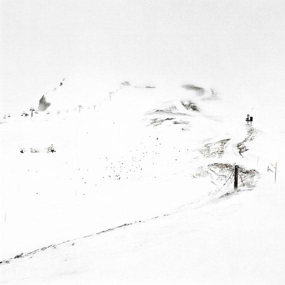 François Schaer: Jours Blancs, Montana, 2012, 100 x 100 cm, Edition 5 & 1 AP