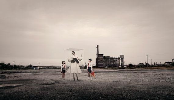 "Quentin Shih, Stranger in the Glass Box No.5, 2008, 44""x75"", C-print, Courtesy ART LEXING"