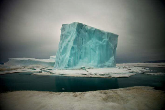 Sebastian Copeland: Iceberg IX, Greenland 2010
