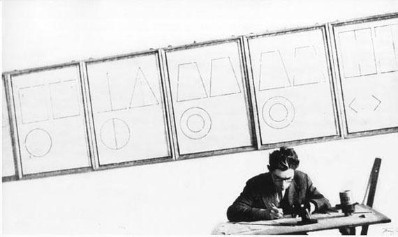 A.Boldin. First year student of Bauman MSTU. 1960s