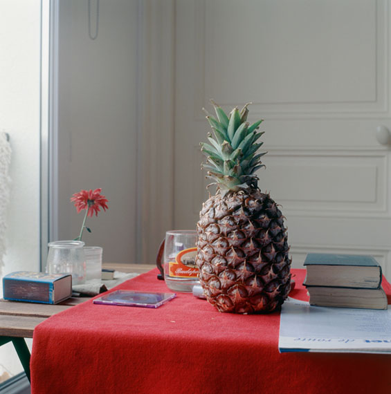 Peter Puklus: Still-life with pineappel, 2005, Paris © Peter Puklus
