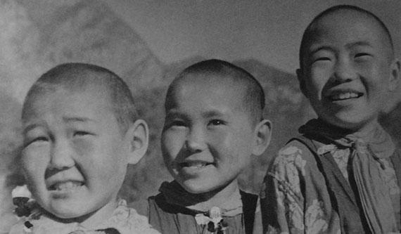 Mikhail Grachev. Altai pioneers, 1936