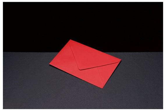 Vadim Gushchin. From the series Colored envelopes, #3 , 2010