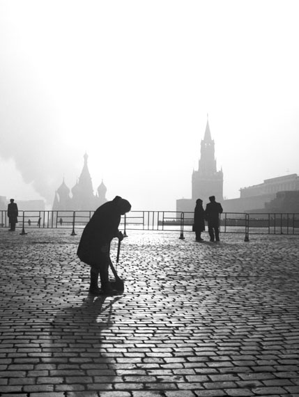 Igor Stomakhin. Cleaning of Red Square, 1970s