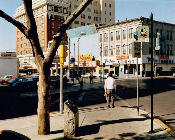 Stephen Shore: El Paso Street, El Paso, Texas, July 5, 1975