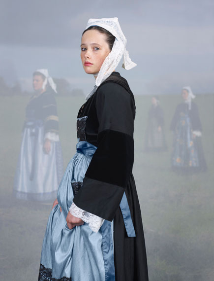 Charles Fréger: The karrigel of Guéméné-sur-Scorff, Everyday costume, Pays Pourlet and Pontivy 1880–1900, 