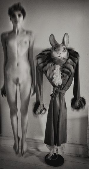 © Karin Székessy: 'Hase und Model' 2014 Courtesy Johanna Breede PHOTOKUNST