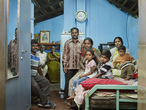 Nora Bibel, Lokanath, Bangalore, Indien, 2014. Aus der Serie Family Comes First