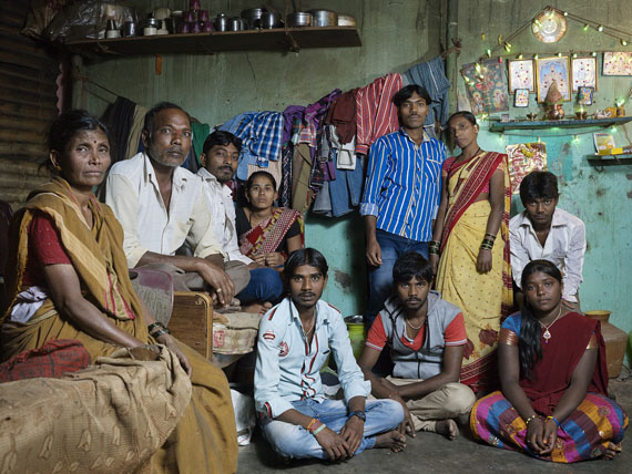 Nora Bibel, Sabanna, Bangalore, Indien, 2014. Aus der Serie Family Comes First