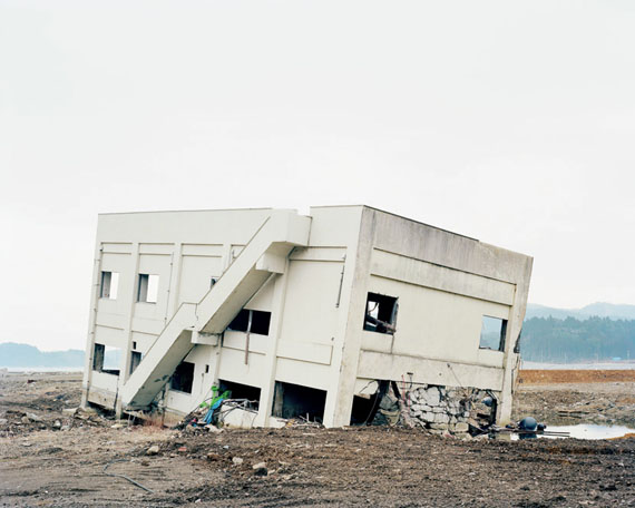 Hans Christian Schink: Rikuzentogura, Tokura, Miyagi Prefecture, aus der Japan Serie Tōhoku, 2012