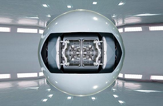 gravitational rotator, 2013, 132 x 202 cm, Ed. 6 © michael najjar