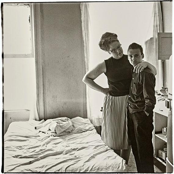 Diane ArbusTwo Friends at Home, N.Y.C., 1965 Gelatin silver print$10,000-15,000