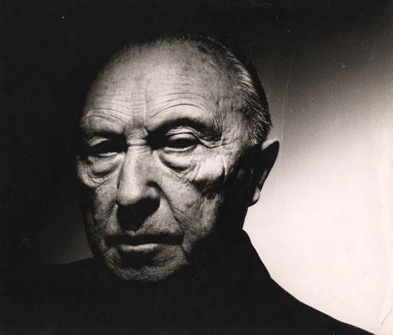 ChargesheimerKonrad Adenauer (1876 - 1967), Politiker, 1956Vintage, Gelatin Silver Print34,8 x 30,4 cm© Museum Ludwig, Köln