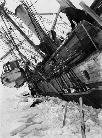Frank Hurley: The Endurance Keeled Over By Pressure © Royal Geographical Society (with IBG)
