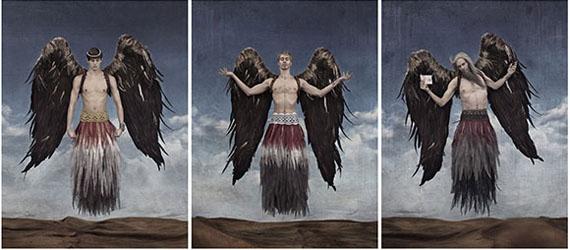 Triptych The Messenger © Gérard Rancinan