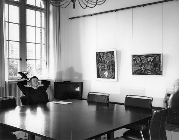 """Nikolaus Geyer: Portrait Klaus Wowereit, aus der Serie """"Ich habe einen Traum"""", ZEITmagazin Nr. 51, 13. Dezember 2001"""