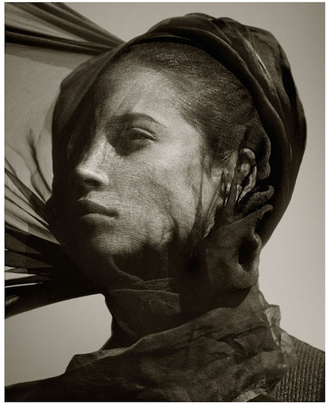 Albert Watson, Christy Turlington, Luxor, Egypt, 1987