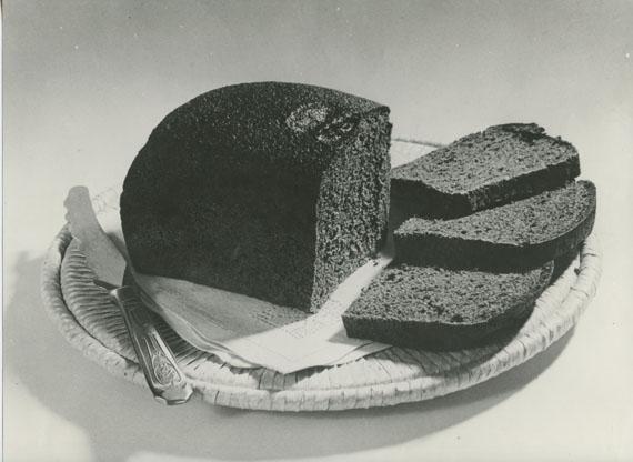 Alexander Khlebnikov, Bread, gelatin silver print, photographed and printed c. 1930s, 17.5 by 24 cm. Estimate: £1,500–2,000