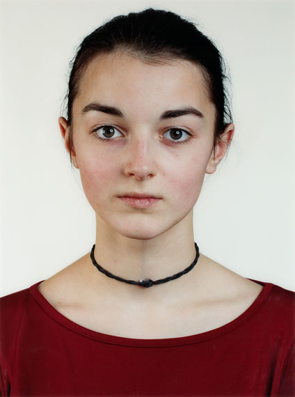 Thomas Ruff. Untitled (Portrait A. Roters). 2001. C-Print, Diasec. 159,5 x 119 cm. One of 4 editioned copies
