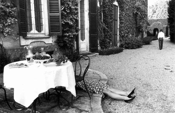 Gianni Berengo Gardin: Pausa di lavoro, Courtesy Fondazione FORMA per la fotografia Milano