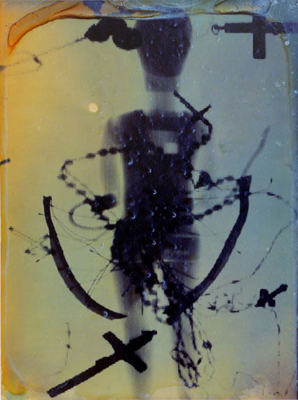 Jürgen KlaukeThe Big Sleep (Detail), 1991Aus der Serie: Prosecuritas 1987-1990