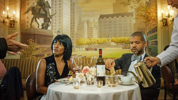 Ragnar KjartanssonScenes from Western Culture, Dinner ( Jason and Alicia Hall Moran), 2015single channel videoi8 GalleryGalleries Hall 2.1 M3