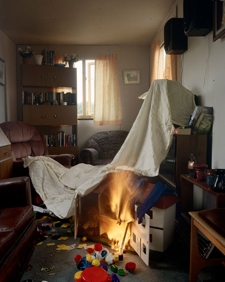 House Fire 2007 from the Fire Scene Series © Sarah Pickering