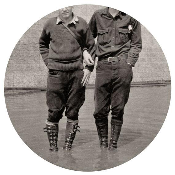 "Boots, 2015. Archival inkjet print. 6"" image on 10"" paper© Kris Sanford, courtesy elizabeth houston gallery"