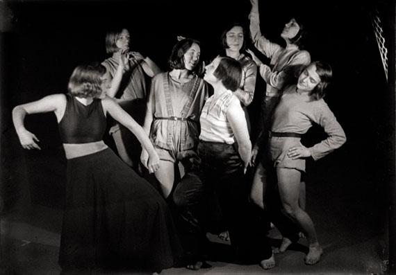 Xanti Schawinsky: Palucca-Group at Municipal Theatre Magdeburg, 1930, ©Stadtarchiv Magdeburg/Kunstmuseum Magdeburg